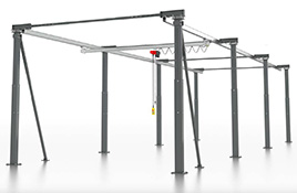 ErgoLine® - das ergonomische Arbeitsplatz-Kransystem