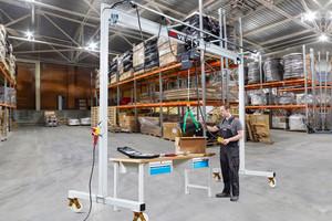Moveable gantry crane PA