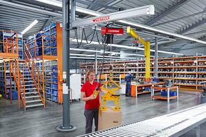 The new UNILIFT can be used for easy handling in any workplace